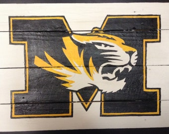 Mizzou Rustic Sign