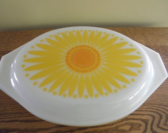 SALE Pyrex Sunflower