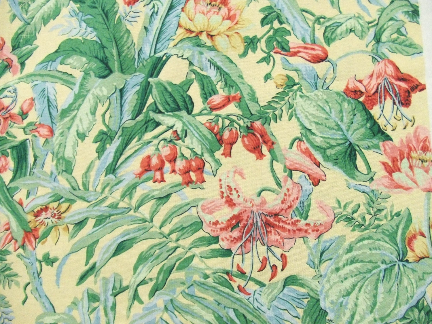 3 Yards Tiberius Waverly Upholstery Fabric By
