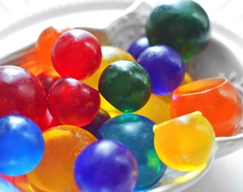 Round Soap Balls / Party Favors / Marble Soap