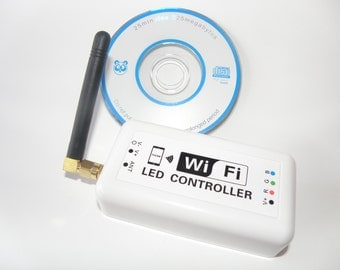 Wifi Controller 370 for RGB LED Strip Light - By Custom LED Kits