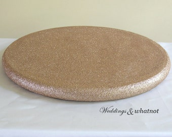 Glittered Cake Stand- Choose your size and color