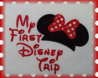 Mister Miss Mouse First Trip Visit Shirt - Great for your Magical Vacation