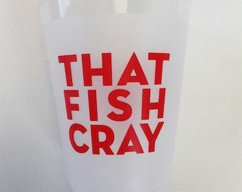 Crawfish Boil Plastic Party Cup