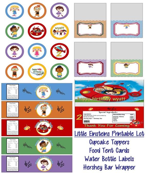 Disney Little Einsteins Birthday Party Printable Lot Package