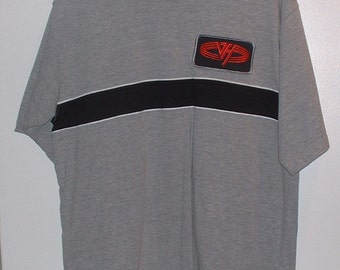 Van Halen One of a Kind T-Shirt with Rare Official Van Halen Patch Logo Never Worn or Used