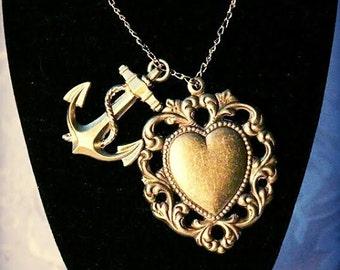Heart chain anchor
