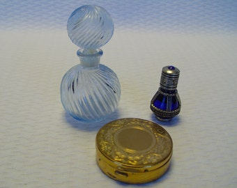 Vanity Collection, Perfume Bottles and Elgin Compact