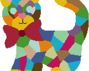 Psycho Kitty Cross Stitch