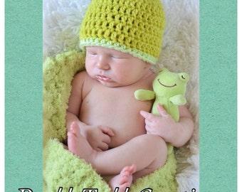 Newborn Beanie Crochet (Made to Order)