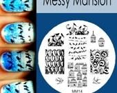 Nail Art Stamping Image Plate MM14 - Birdies