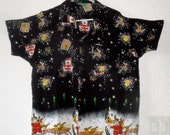 Hawaiian Christmas Shirt  Perfect for Ugly Sweater Party
