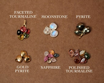 Add a gemstone - power boost - healing gem - tourmaline - sapphire - pyrite - moonstone -