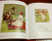 Glorious Mother Goose - Illustrated Nursery Rhymes - Vintage Historical Mother Goose Book - Printed 1988