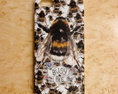 Busy Bee iPhone 4 / 4S & 5 case