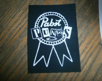 Pabst Punks Patch