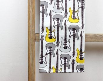 Tea Towel - Guitar