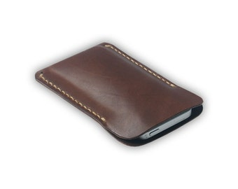 Leather iPone 5 cover