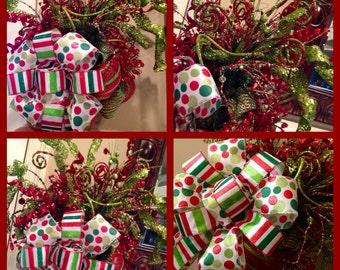 Jolly Christmas tree topper