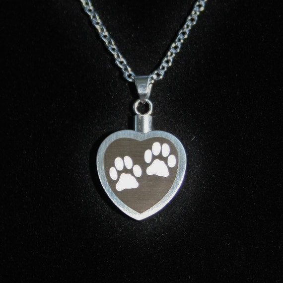 Pet cremation jewelry for ashes urn necklace ash pendant dog for Jewelry to hold cremation ashes