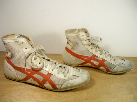 Dan Gable Leather Wrestling Shoes