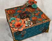 Steampunk Journey Trinket and Jewelry Box