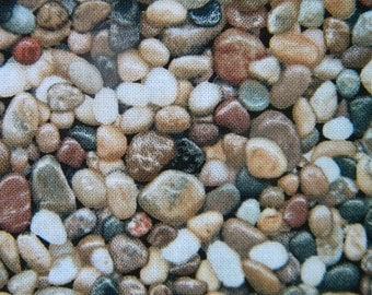 Pebbles--fabric by the yard--Elizabeth's Studio, cotton
