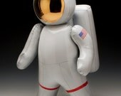 Ceramic Inflatable Astronaut (Made to Order)