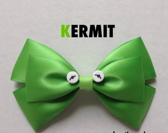 kermit hair bow