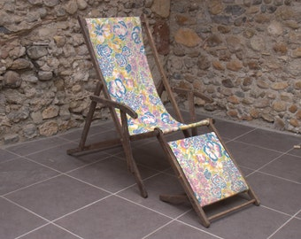 Vintage French Deck Chair
