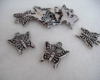 6 Pendant, Butterfly (1028)
