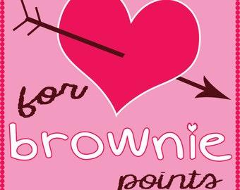 Brownie Points Valentine's
