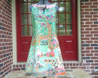 African Wax Print  Dress-Made-to-Measure Dress- Custom Made Dress-African Print