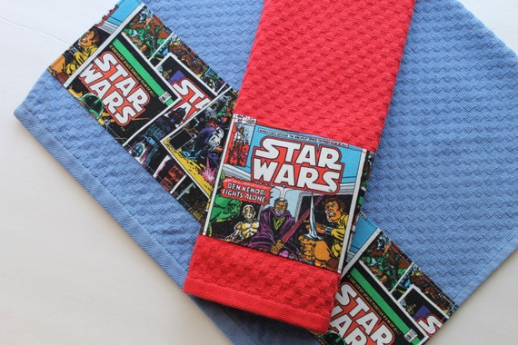 Ready To Ship Star Wars Kitchen Towels Star Wars Geek