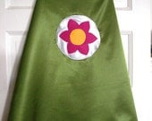 Large: Flower Power Super Hero Cape