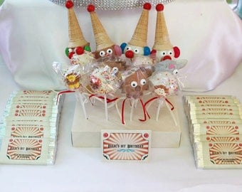 Vintage Inspired Circus Theme Party Printables