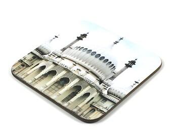 Wooden Coaster, Brighton Pavillion Coaster, Photo Coaster, Handmade