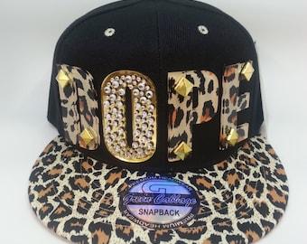 DOPE custom 3d acrylic snapback hat cap