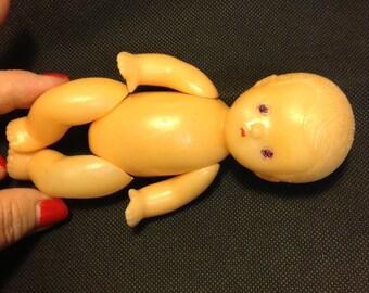 Doll vintage plastic Russia (USSR)