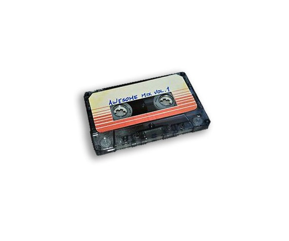Cassette Tape Guardians Of The Galaxy Awesome Mix Vol. 1