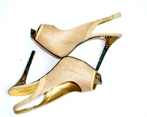 Ankara African Print Shoes- Ankara Shoes- Wedding Shoes- Platform Wedding Heels -Platform Wedding Shoes -High Heels - Platforms - Peep Toe -
