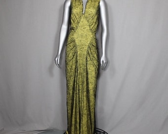Early 1900's Couture Bobbin Lace  Stunning OPERA GOWN