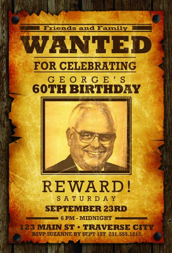 Etsy 60Th Birthday Invitations was beautiful invitations sample