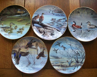 Maynard Reece Limited Edition Duck Plates