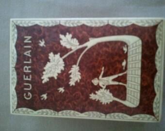 vintage Gerlain Mitsouko box.