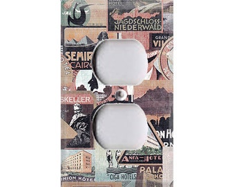 Travel the World Outlet Cover