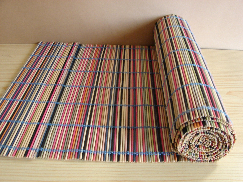 Extra lunghi bastoni di bamb multi colorate naturale multi for Vendita bambu