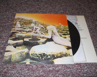 Led Zeppelin Houses Of The Holy Vinyl Record Lp Sterling
