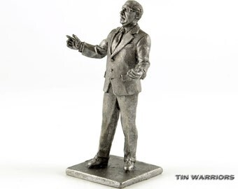 Mikhail Gorbachev The last president of the USSR. Collection 54mm 1/32 toy soldiers. Tin toy soldiers shop