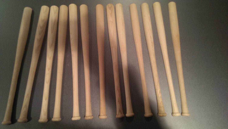 wood baseball bat american flag 30 inch bats